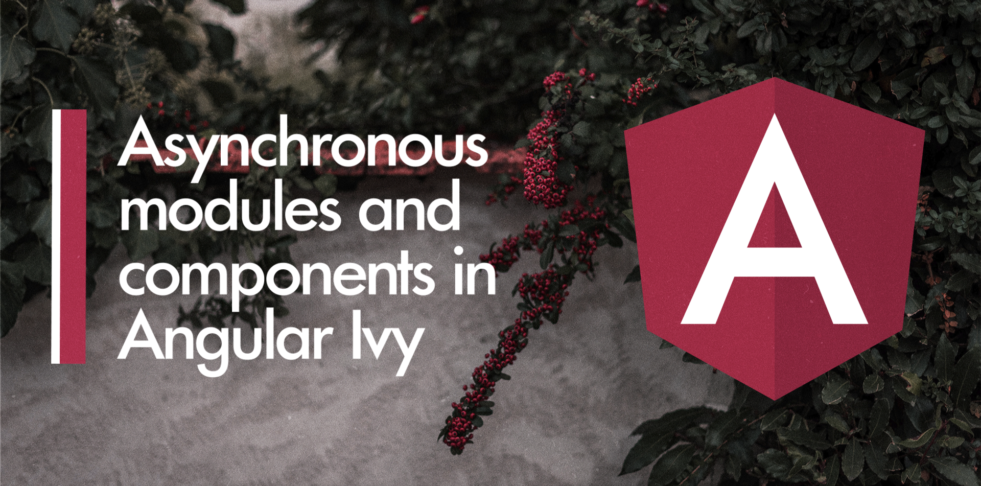 Asynchronous modules and components in Angular Ivy