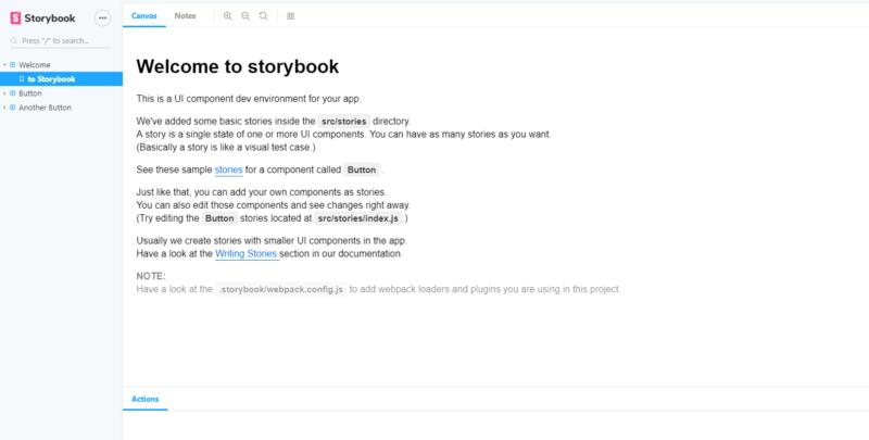 storybook run