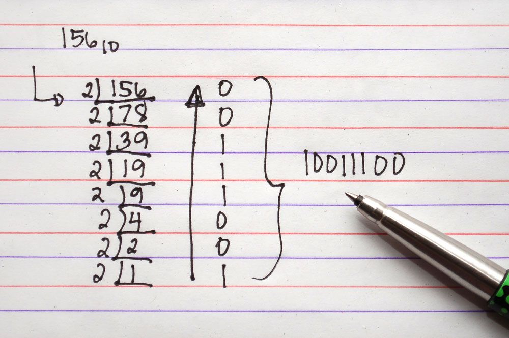 The simple math behind decimal-binary conversion algorithms