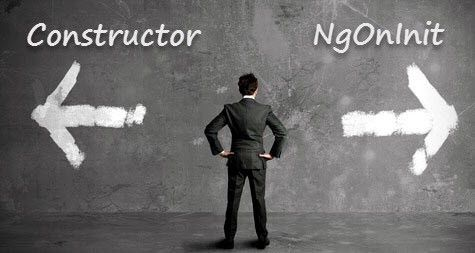 The essential difference between Constructor and ngOnInit in Angular