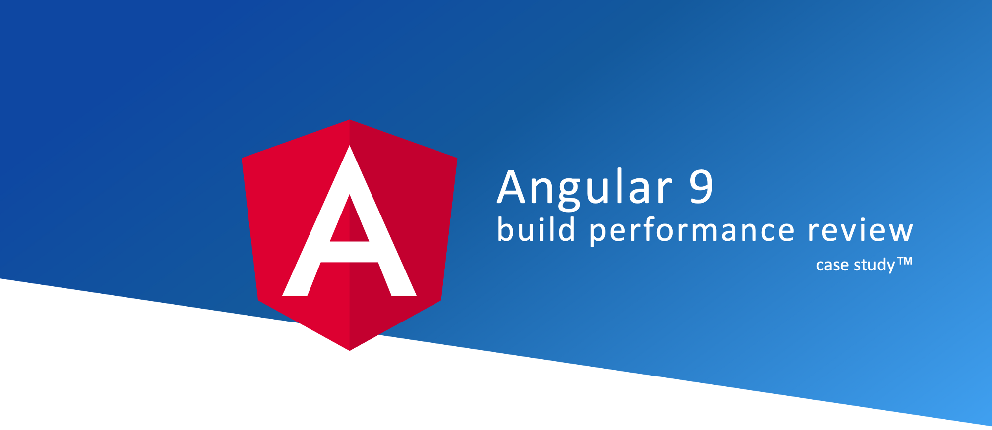 Angular with Ivy - Build performance review