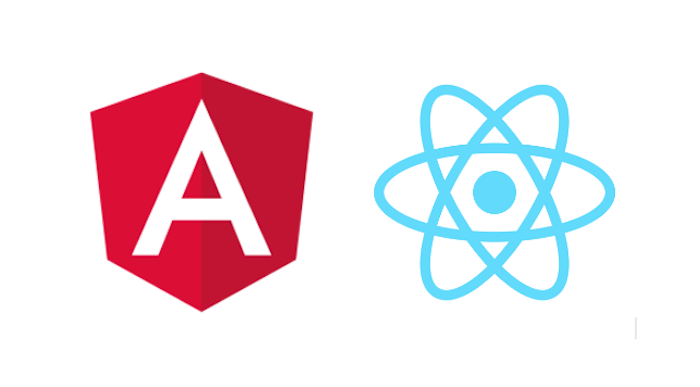A comparison between Angular and React and their core languages