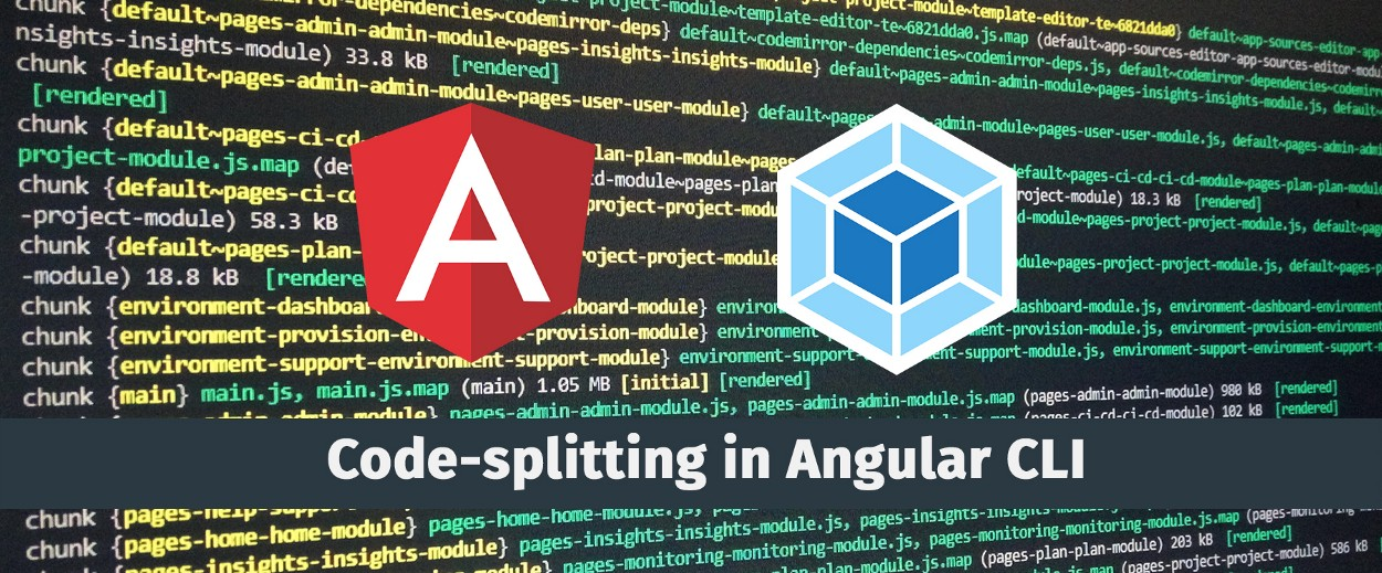 Code-splitting in Angular or how to share components between lazy modules
