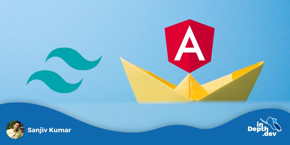 Implementing Angular Schematics using Angular + Tailwind CSS example.